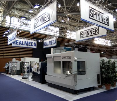 Exposition machine outils REALMECA SPINNER
